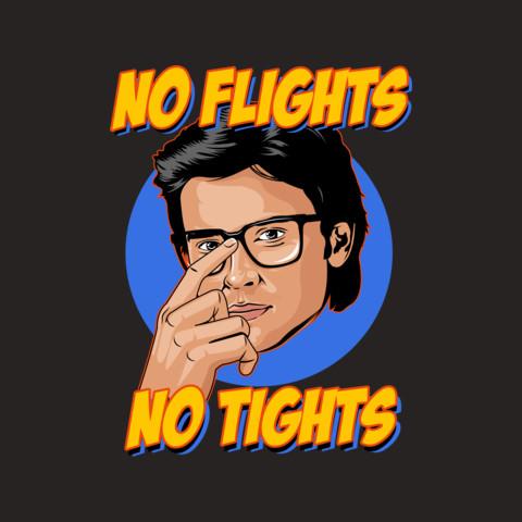 Tom Welling's No Flights, No Tights Tee
