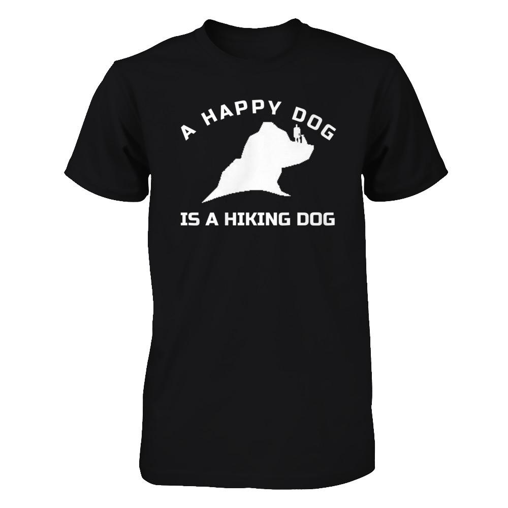 A HAPPY DOG IS A HIKING DOG