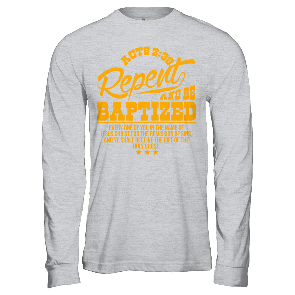 ACTS 2:38 | Exclusive Design- All Styles