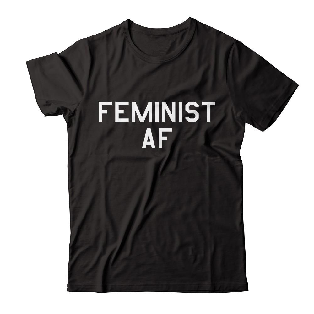 "Women's History Month ""Feminist AF"" Apparel"