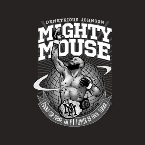 "Demetrious Johnson's ""Mighty Mouse"" Tee"