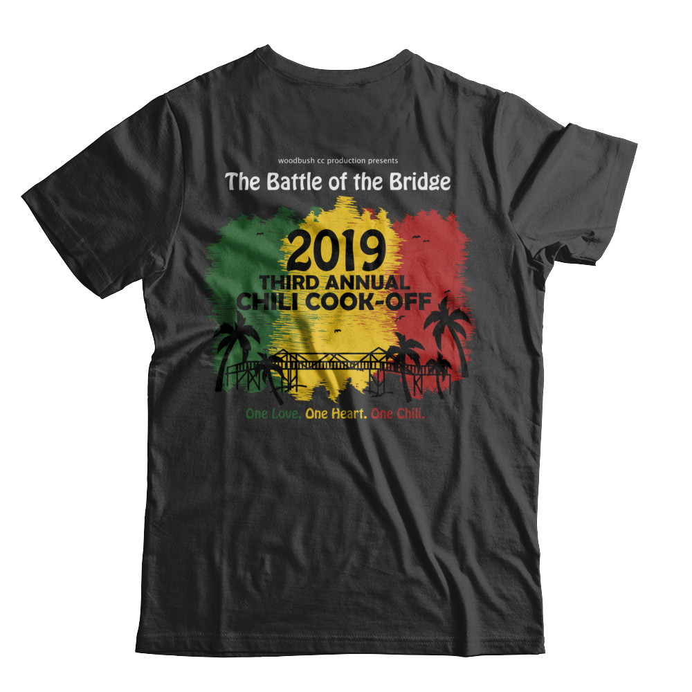 2019 Battle of the Bridge Official Tee