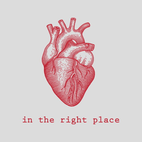 Heart In The Right Place Apparel Represent