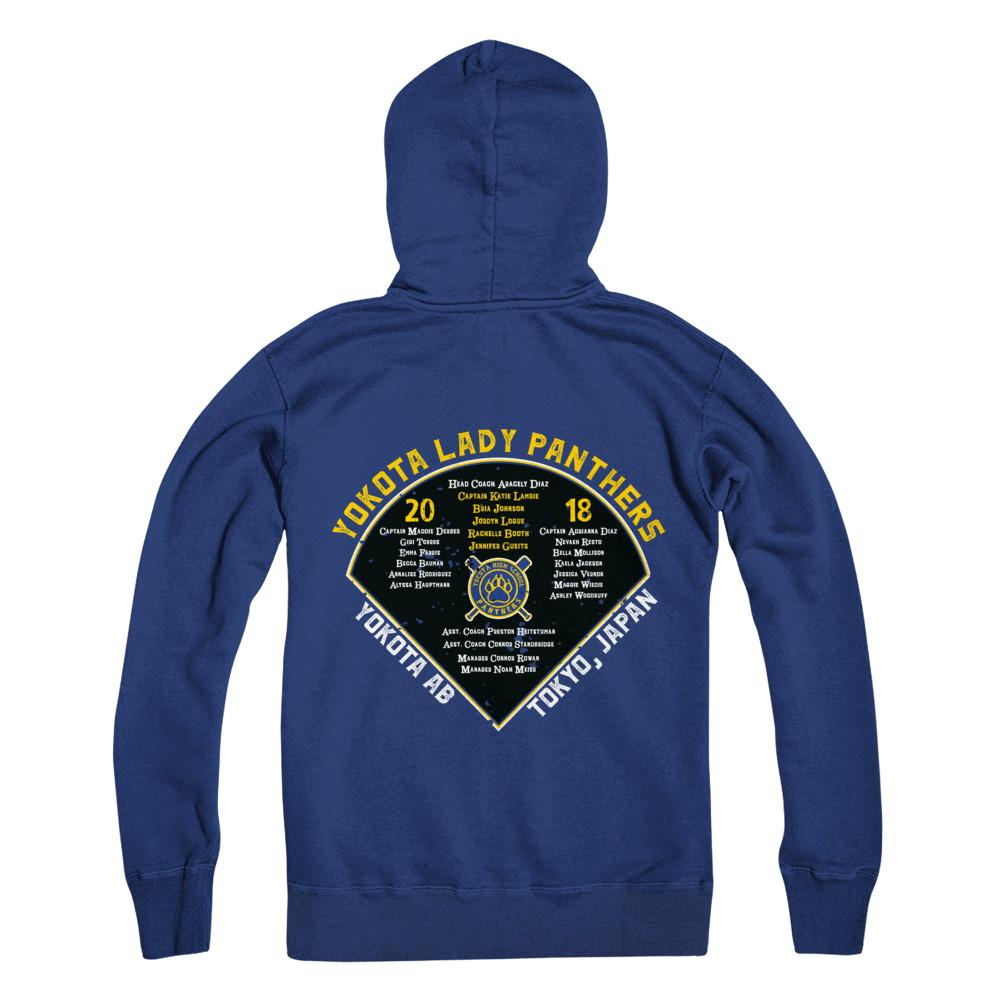 Yokota Softball Diamond Back Hoodie