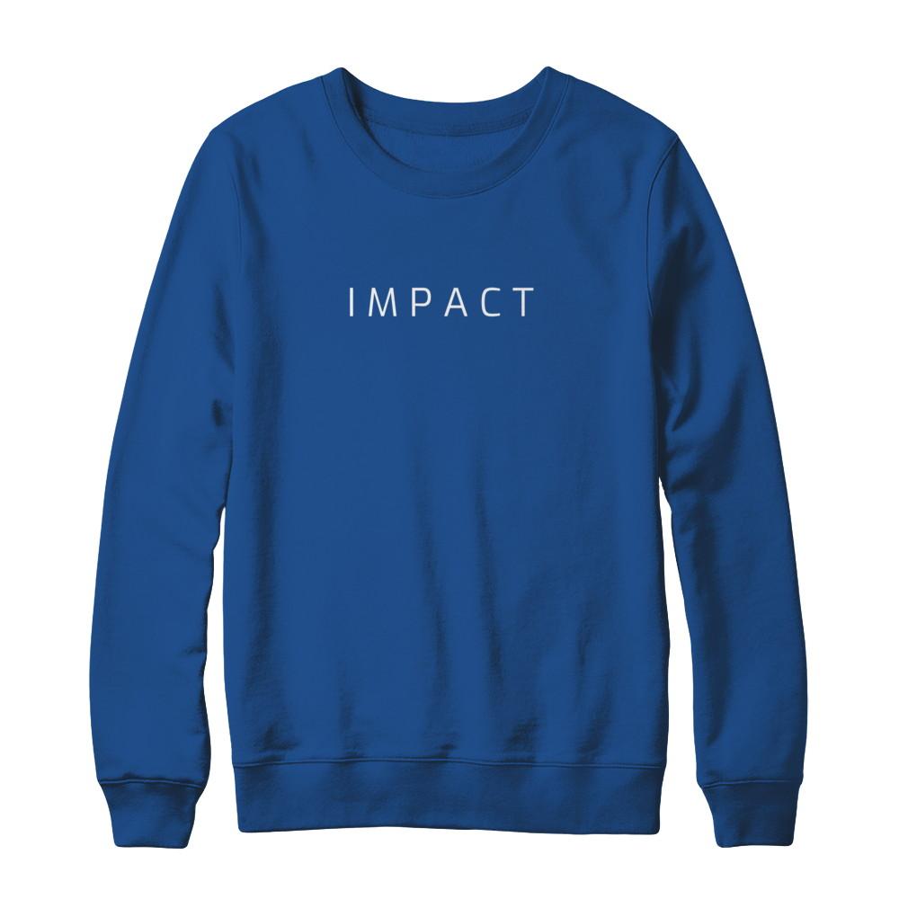 Simple Impact Logo Pullover Sweatshirt