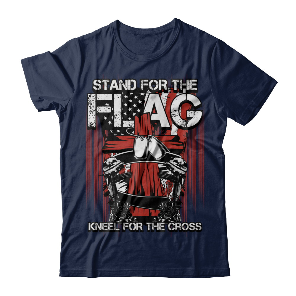 Stand For The Flag- Kneel For The Cross