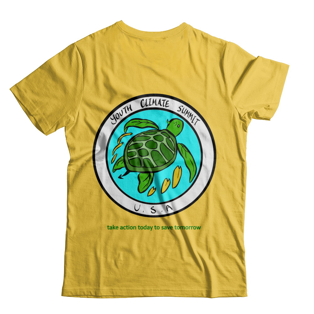 Youth Climate Summit USA Leaf Turtle Logo