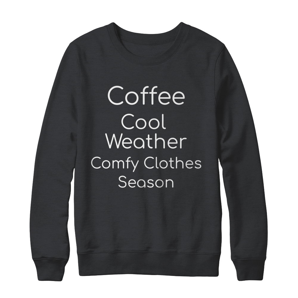 Womens Comfy Clothes Season Pull Over Sweatshirt