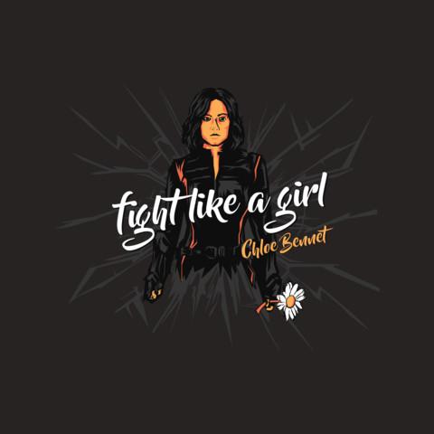 "Chloe Bennet's ""Fight Like A Girl"" Tee"