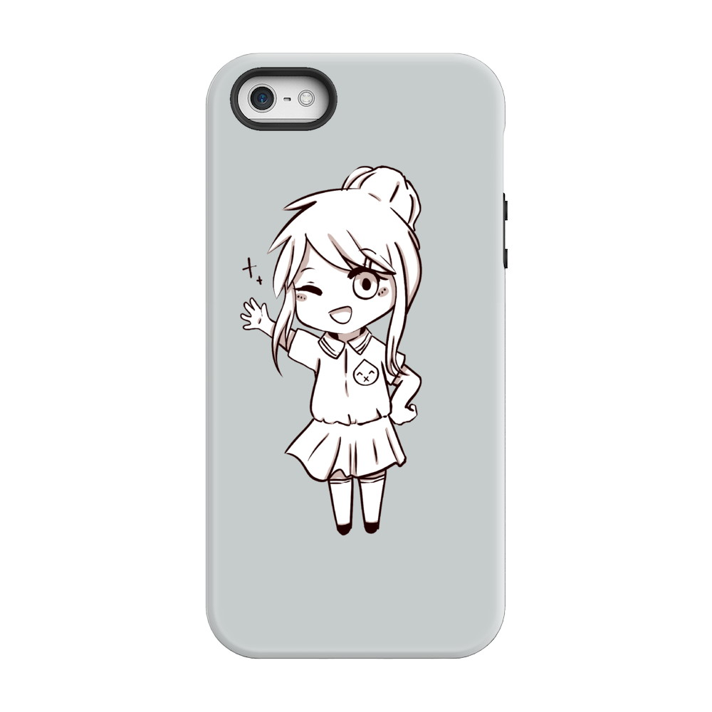 Wisp X Chibi Shizuka Phone Case