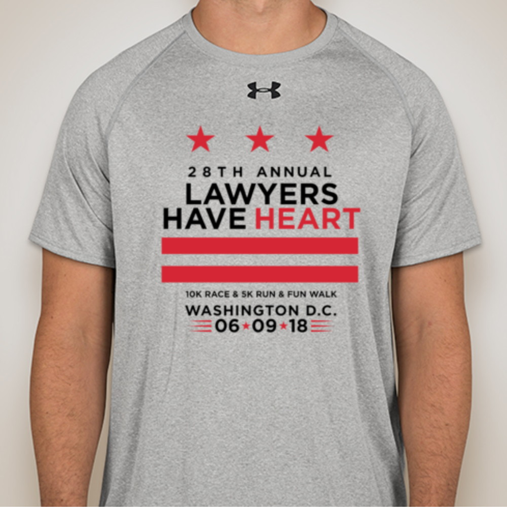 "AHA ""Lawyers Have Heart"" Under Armour Apparel"