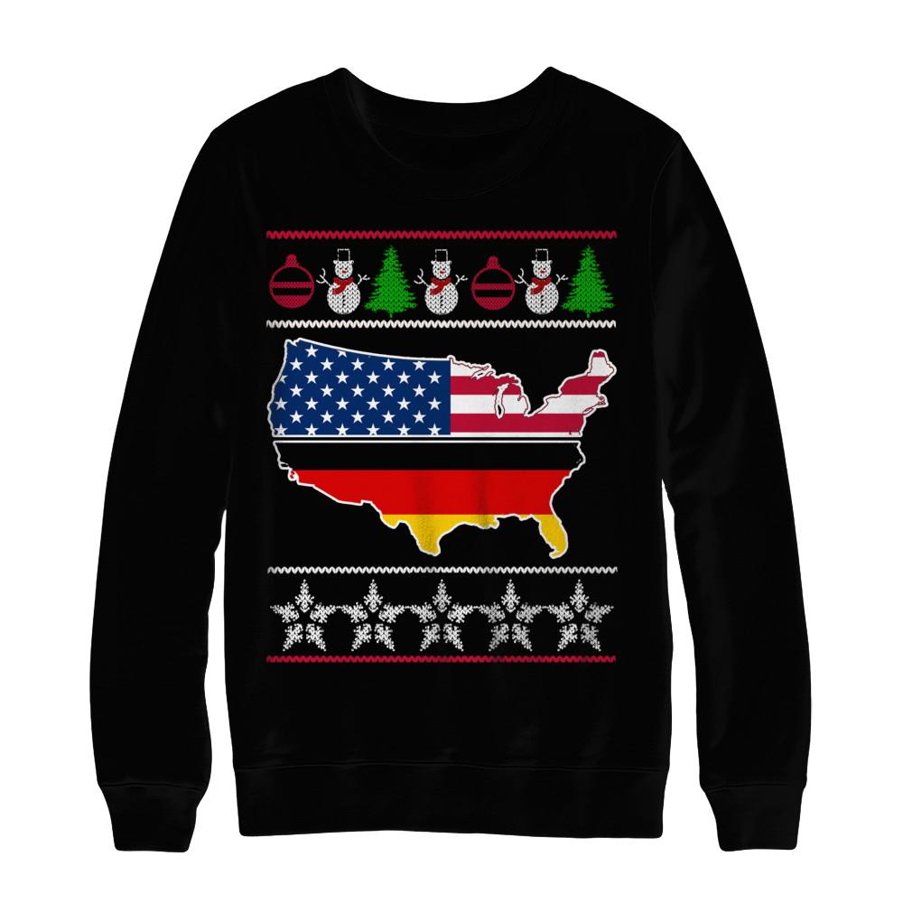 Ugly Christmas Sweater - GERMANY - USA