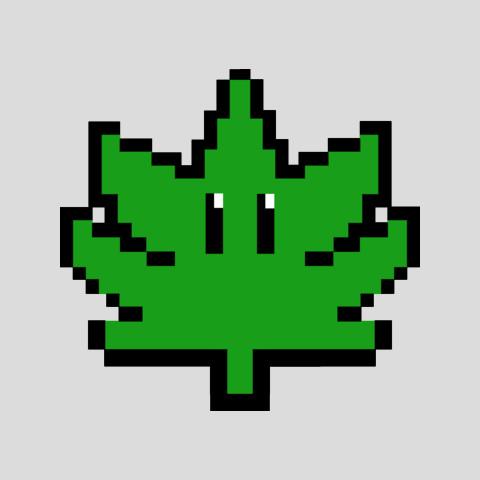 48640d91ea03 8-Bit Super Weed Pixel Art T-Shirt