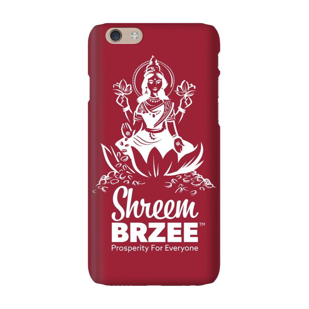 Shreem Brzee iPhone Case - White Logo