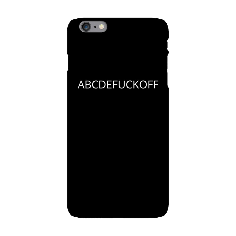ABCDEFUCKOFF Phone Cases