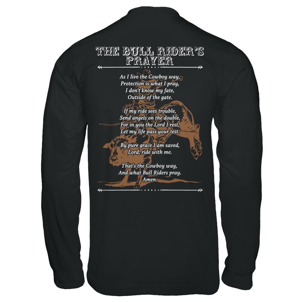 The Bull Rider's prayer