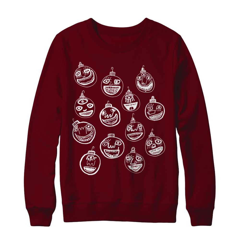 Ugly Christmas Sweater (white bulbs)