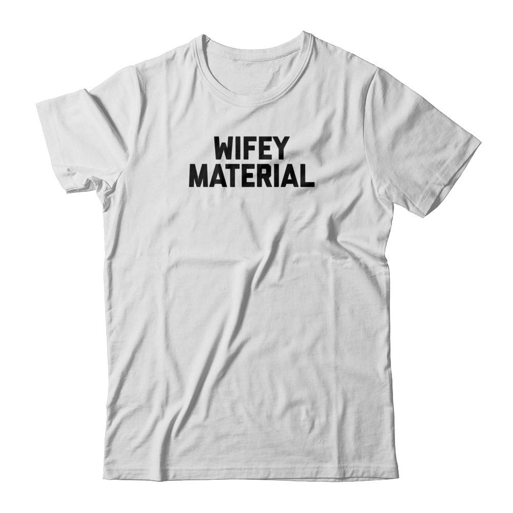 Wifey Material White Tshirt