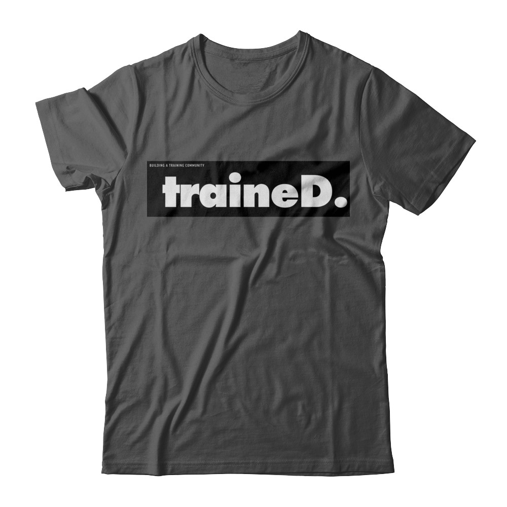 traineD. club t-shirt