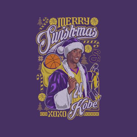 """Kobe Bryant's """"Merry Swishmas"""" Sweater"""