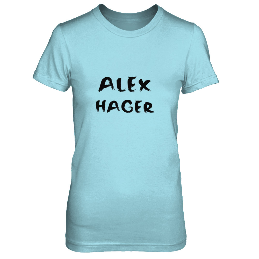 "Alex Hager ""Painted Text"" Tee"