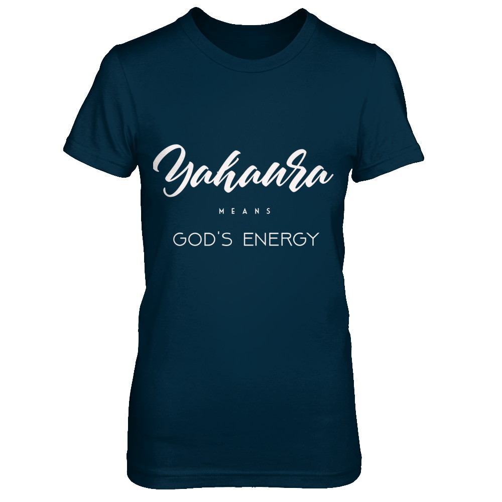 Yahaura Means God's Energy