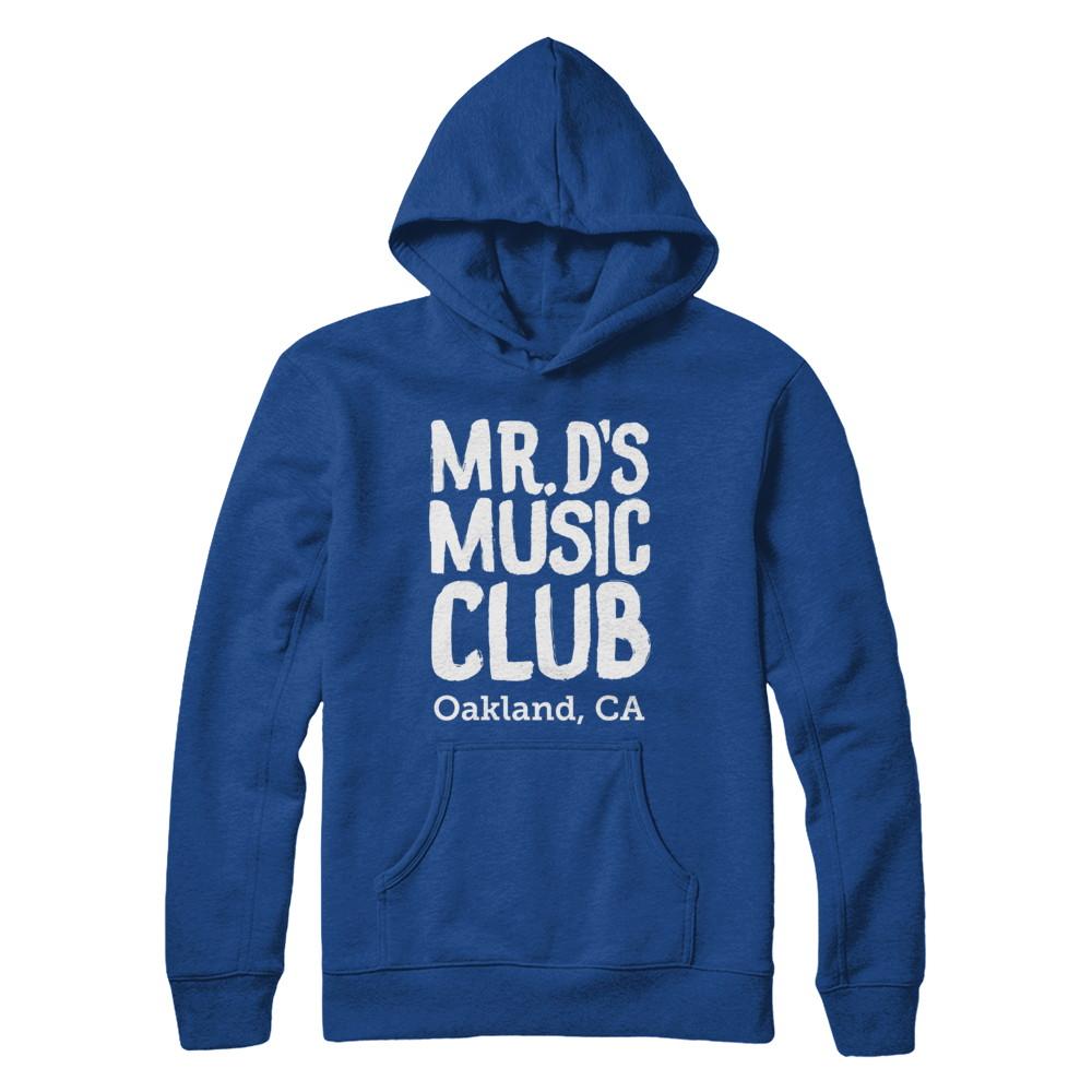 *ADULT HOODIE* Mr. D's Music Club