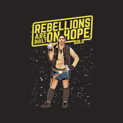 Rebellions Are Built On Hope Solo Apparel