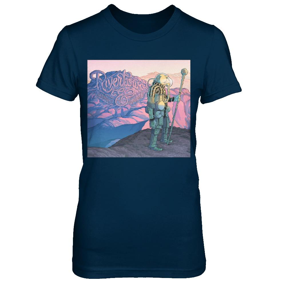 2017 Rivertown Comics Shirt Ladies Cut