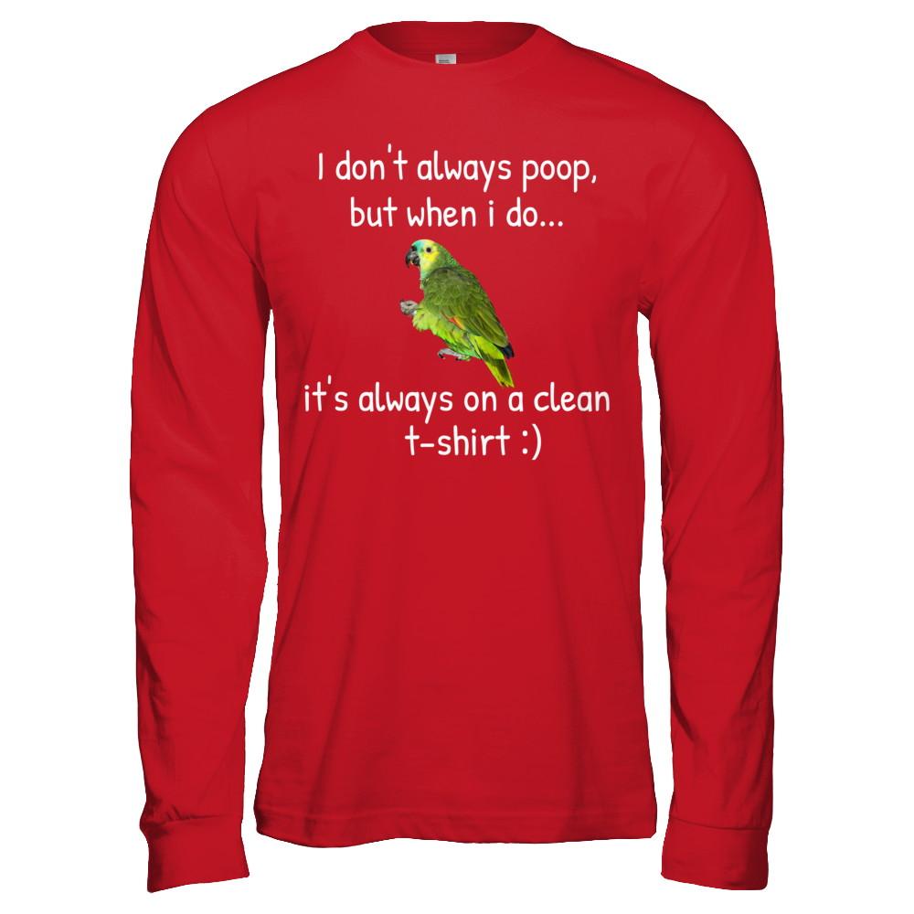 Quaker Parrots T-shirt