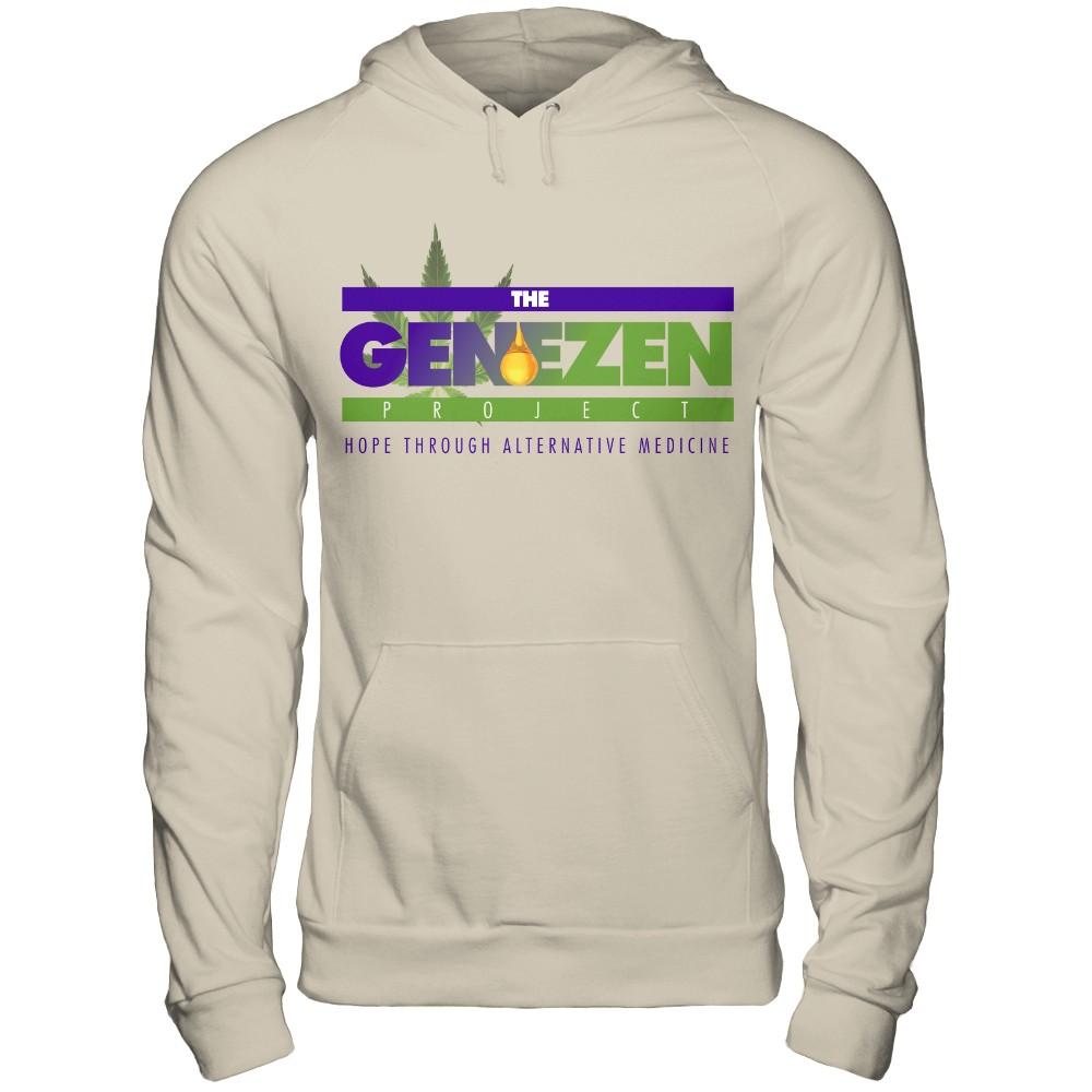 The Genezen Project Logo with big G logo