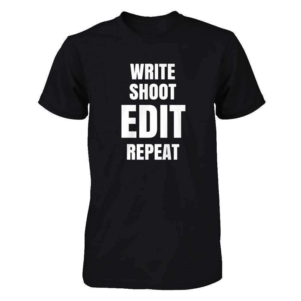 WRITE, SHOOT, EDIT, REPEAT.