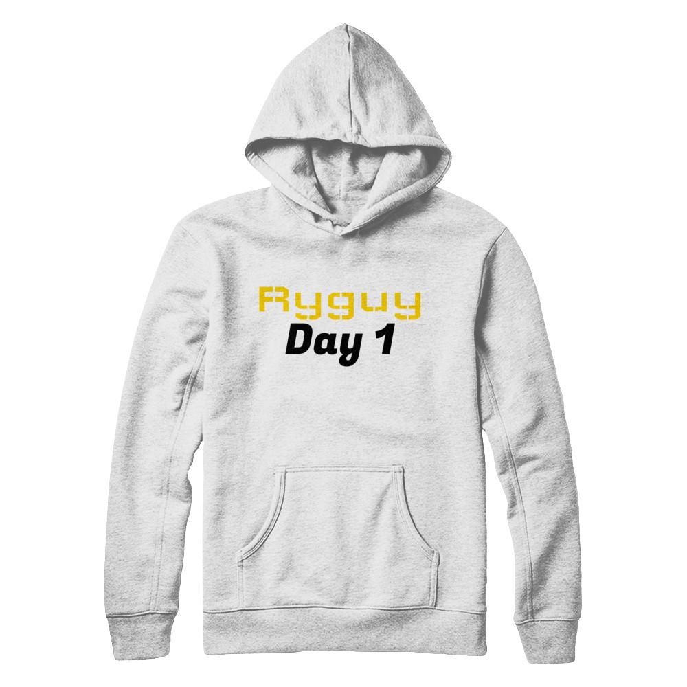 Ryguy Day 1 Hoodie (White)