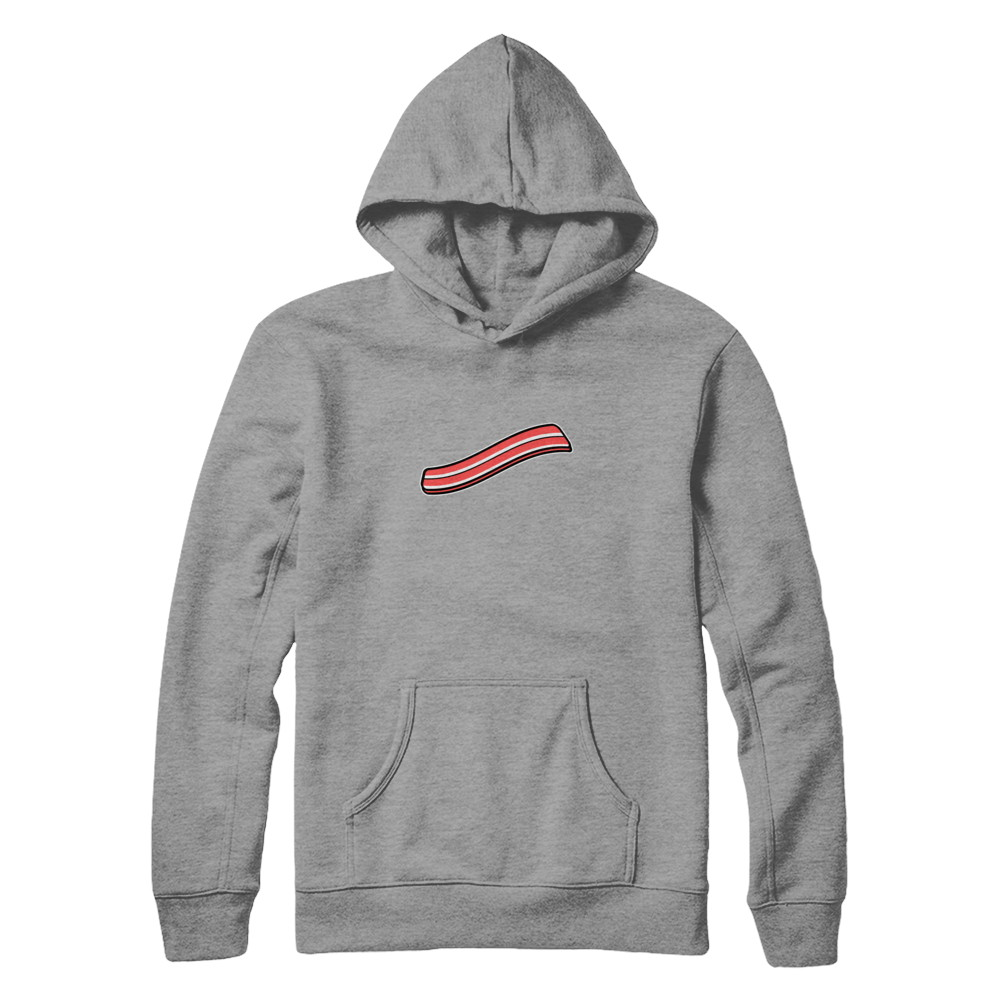 BACON hoodie (GREY)