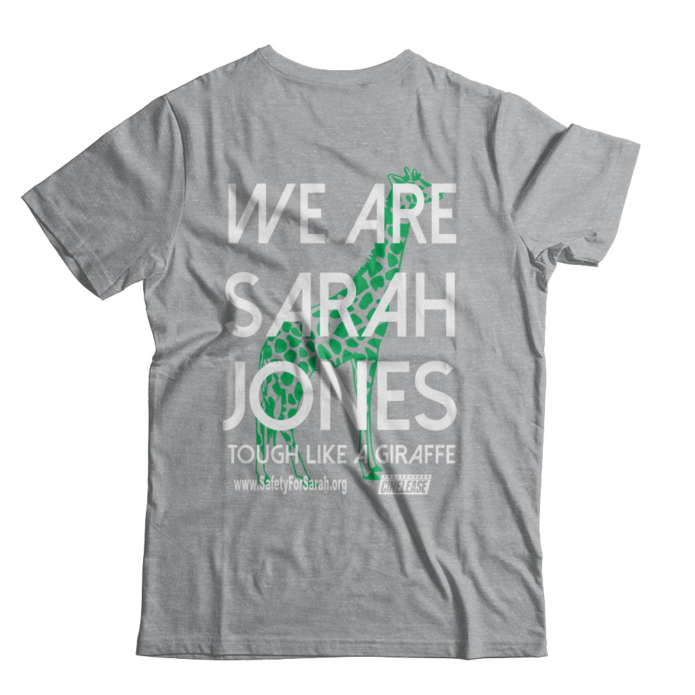 Safety for Sarah Field Day Tshirt 2018