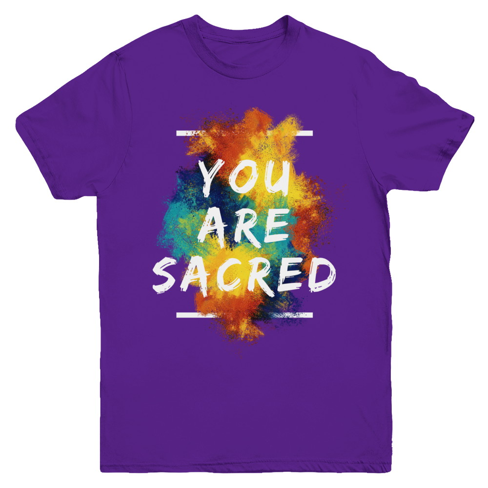 YOU ARE SACRED - YOUTH TEES