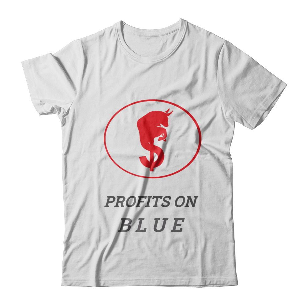 Profits On Blue Tee