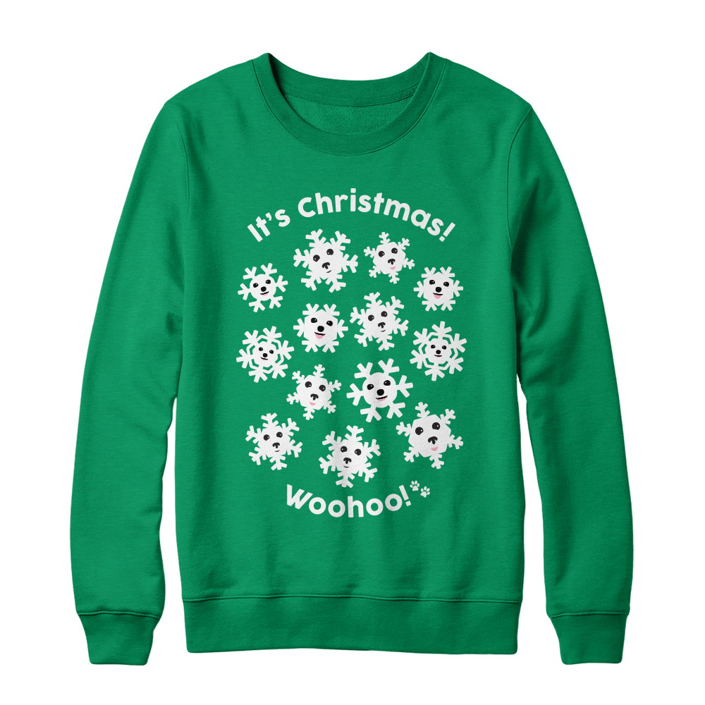 "Patrick Barnes ""WooHoo"" Christmas Sweater"