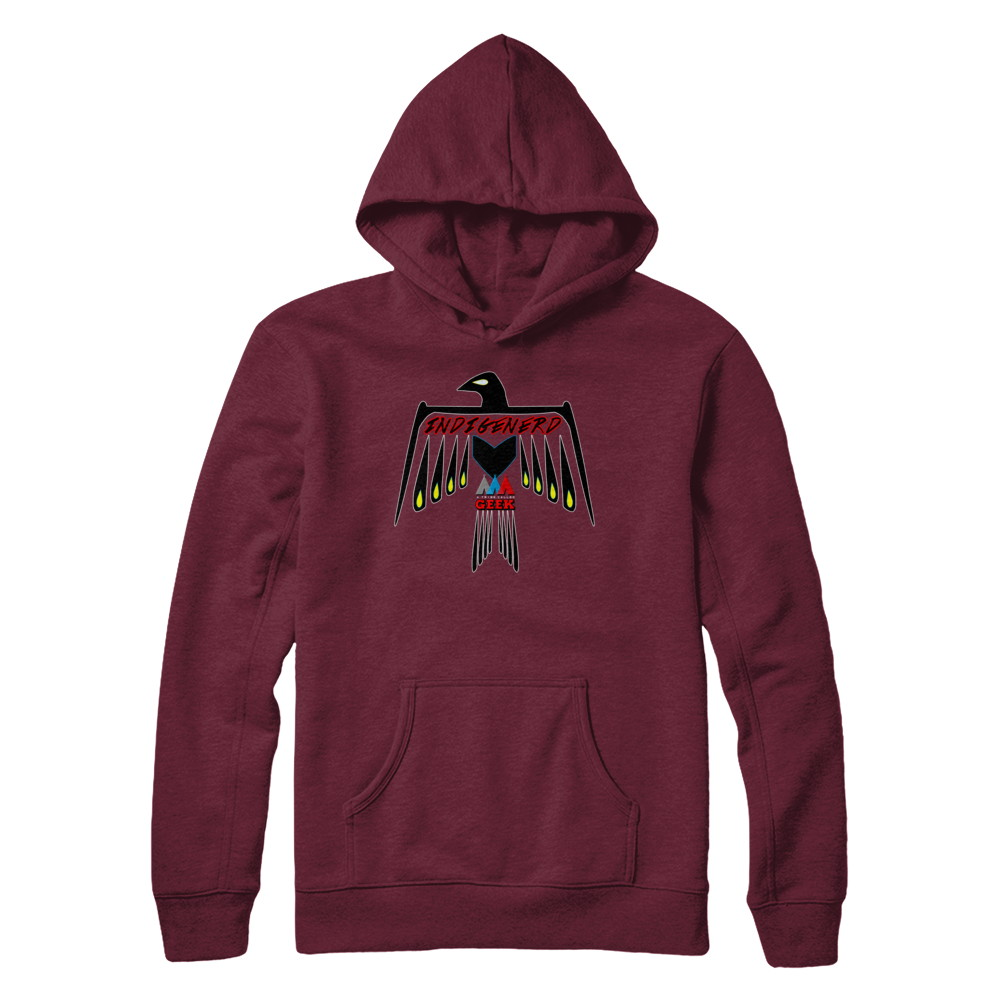 Thunderbird Indigenerd Pullover Hoodie