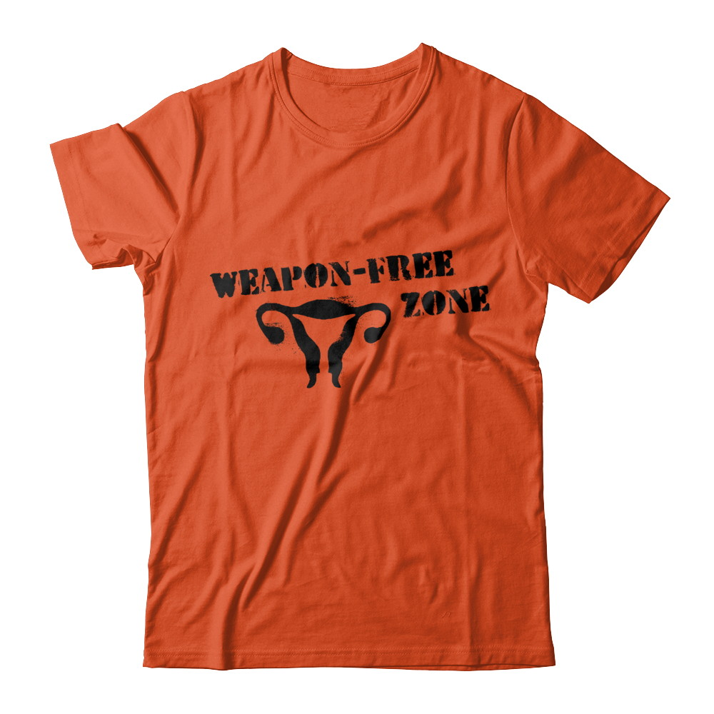 Weapon-Free Zone (Pro-Life Shirt!)