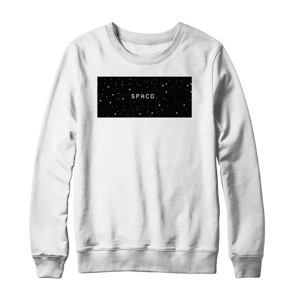spacd. boxed sweatshirt.