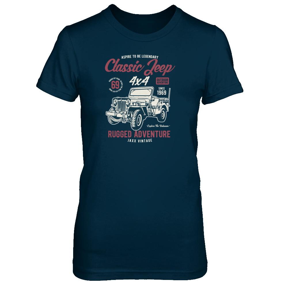 Women's - Classic Jeep Vintage T-Shirt