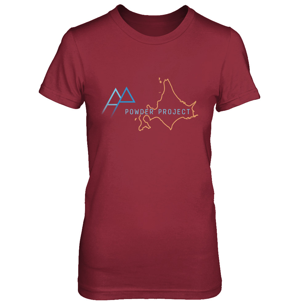 Women's Powder Project Outline Tees