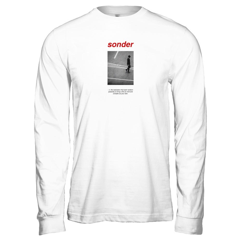 Sonder Definition Long Sleeve (White)