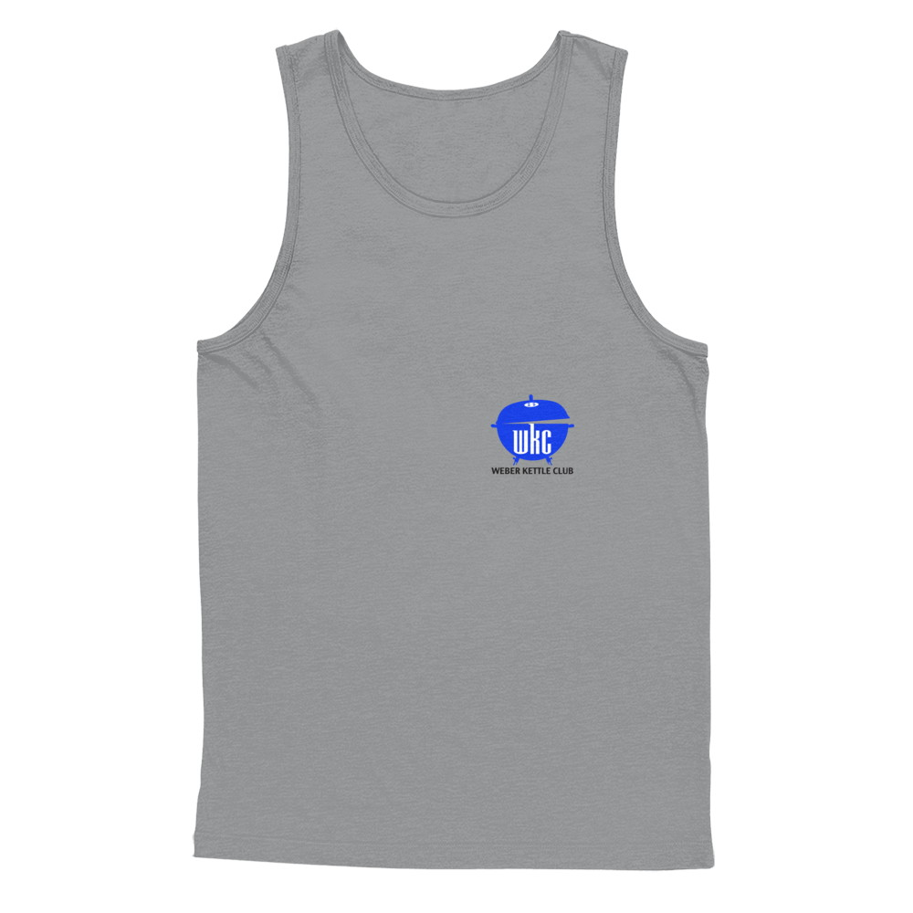 WKC Blue Logo - white / light shirts