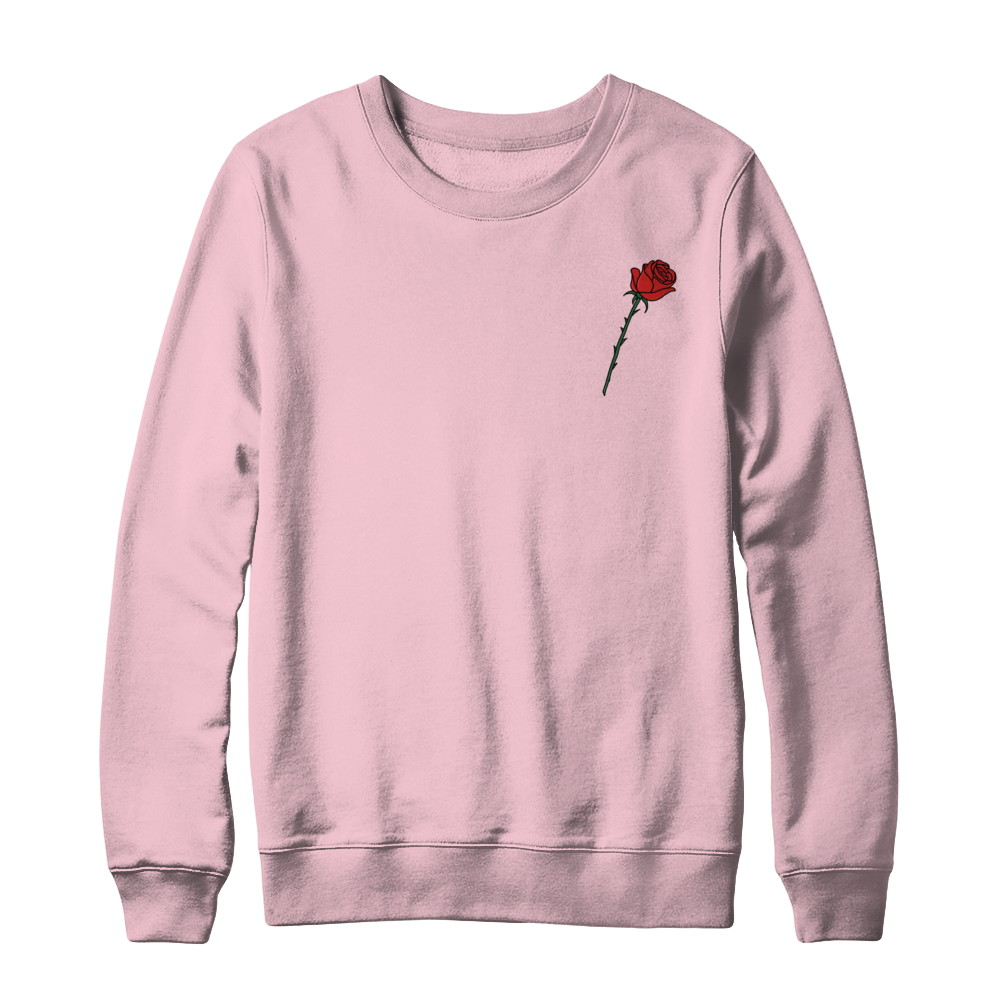 Small Rose Sweatshirt