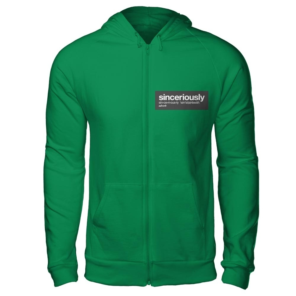 "Stephen Amell ""Sinceriously"" Apparel"