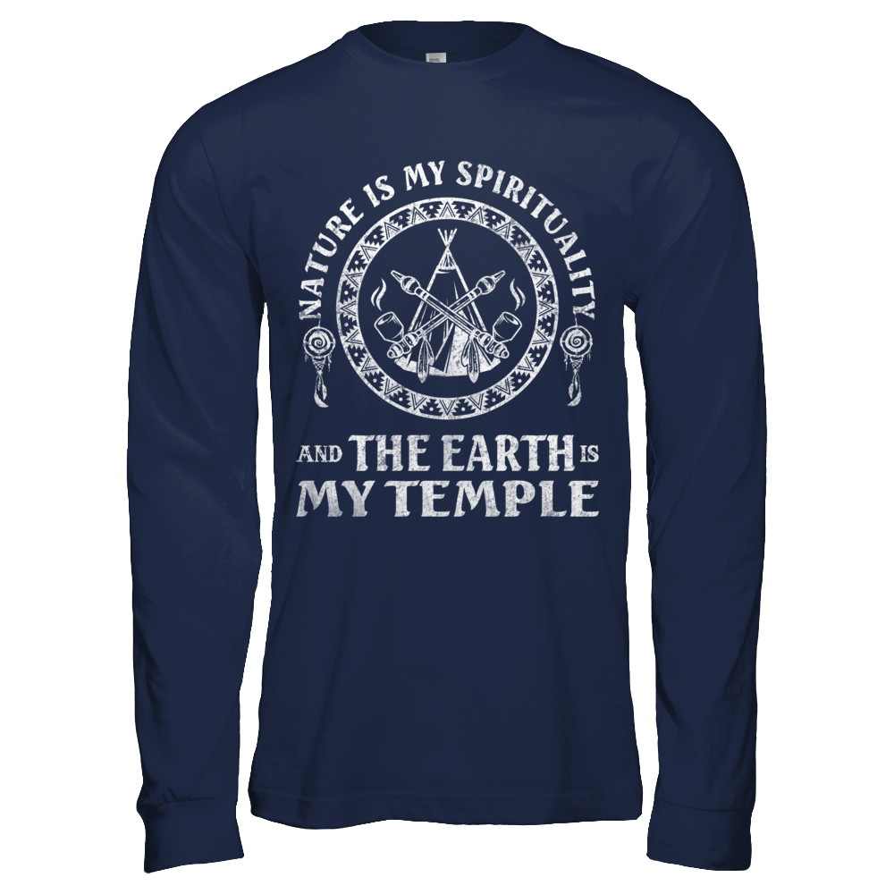 And The Earth Is My Temple (Men)