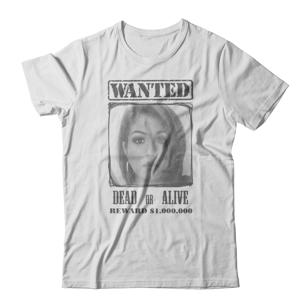 Wanted super t-hirt