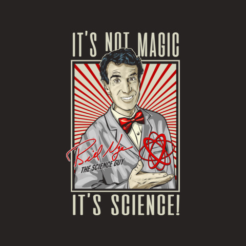 "Official Bill Nye ""It's Science"" Tee"